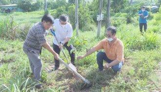 Công đoàn cơ sở Công ty Cổ phần cấp thoát nước Trà Vinh: Trồng 800 cây xanh tại xã Hòa Thuận, huyện Châu Thành