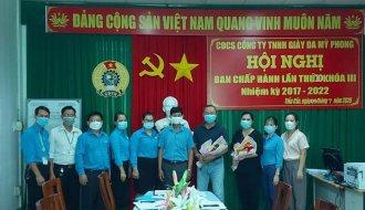 Công đoàn cơ sở Công ty TNHH Giày da Mỹ Phong: Phát triển mới được 4.362 đoàn viên công đoàn