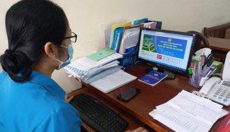Thí sinh Trần Hoàng Dũng, CĐCS Trường THCS Hiếu Tử (LĐLĐ huyện Tiểu Cần) đạt giải nhất Cuộc thi trực tuyến tìm hiểu Công đoàn Việt Nam