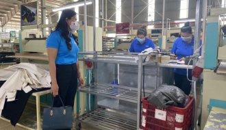 Khôi phục sản xuất tại doanh nghiệp, đảm bảo môi trường an toàn cho người lao động