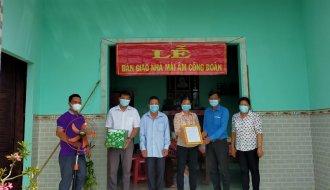 Liên đoàn Lao động huyện Duyên Hải: Bàn giao nhà Mái ấm Công đoàn cho đoàn viên công đoàn