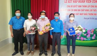 Liên đoàn Lao động thành phố Trà Vinh: Thành lập Công đoàn cơ sở Công ty TNHH XNK & TM Vinh Kim