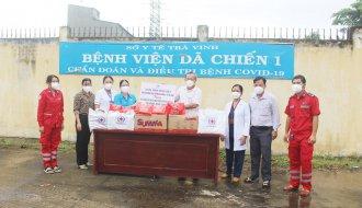 Công đoàn ngành Y tế tỉnh Trà Vinh: Tặng quà Trung thu cho con của cán bộ, viên chức, người lao động Bệnh viện Dã chiến số 01